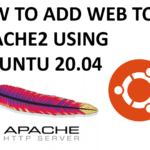 Add website to apache2 in 2021